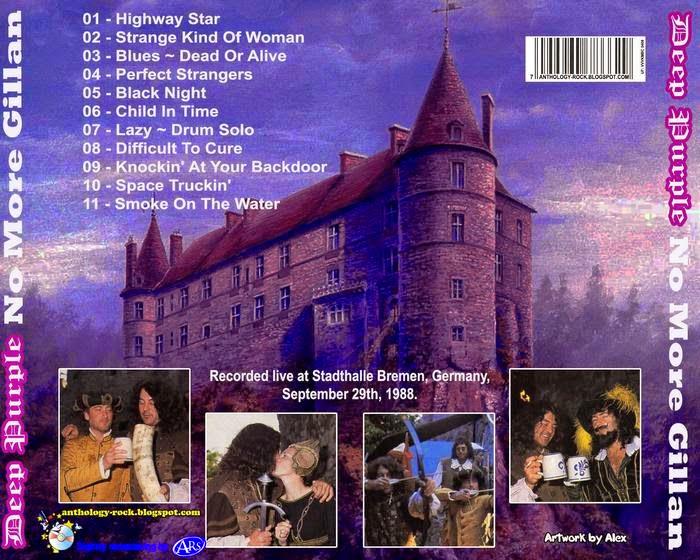 Deep Purple – No More Gillan (1988-09-29) FLAC | Rock Anthology